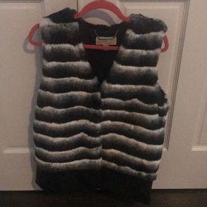 Michael Kors faux fur ladies Vest. Size M